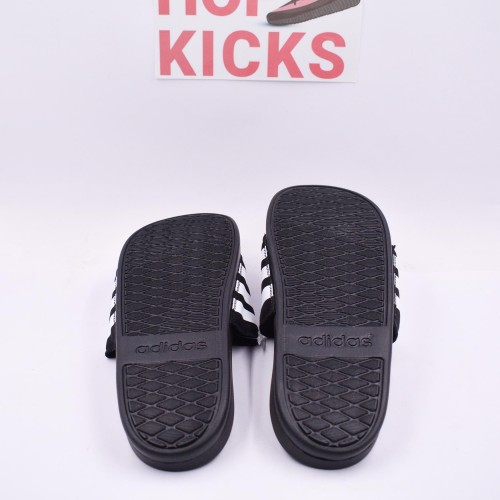 Adilette Cloudfoam + Black White [Real Cloudfoam Material]