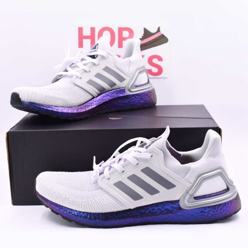 Ultra Boost 20 Consortium Dash Grey/Blue Violet [Real Boost]