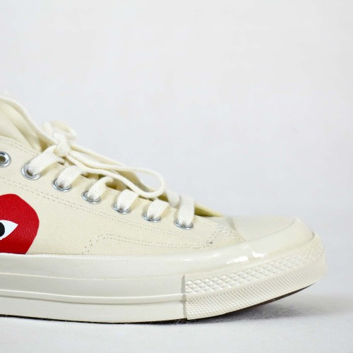 Play X Converse CT Low White
