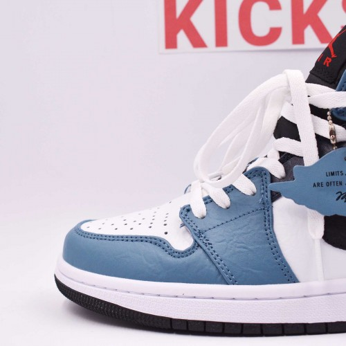 Facetasm X Air Jordan 1 Fearless Blue [Batch 2020]
