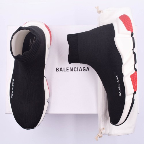 Balenciaga Speed Runner Black Red [Premium Quality]