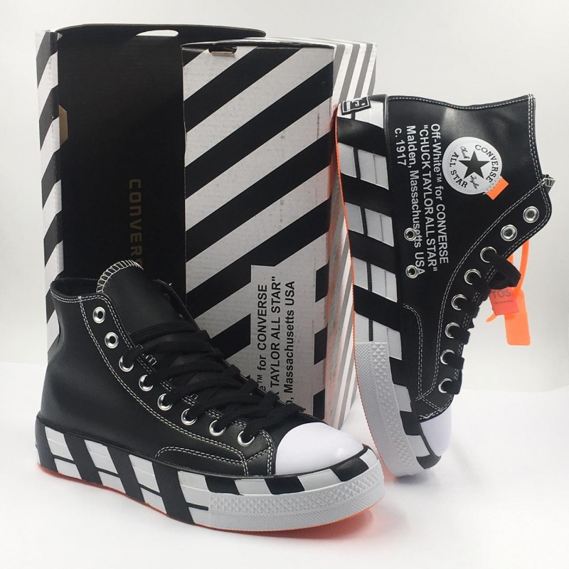 fe523994c8c Off-White x Converse 2.0 Chuck 70 Hi Black White
