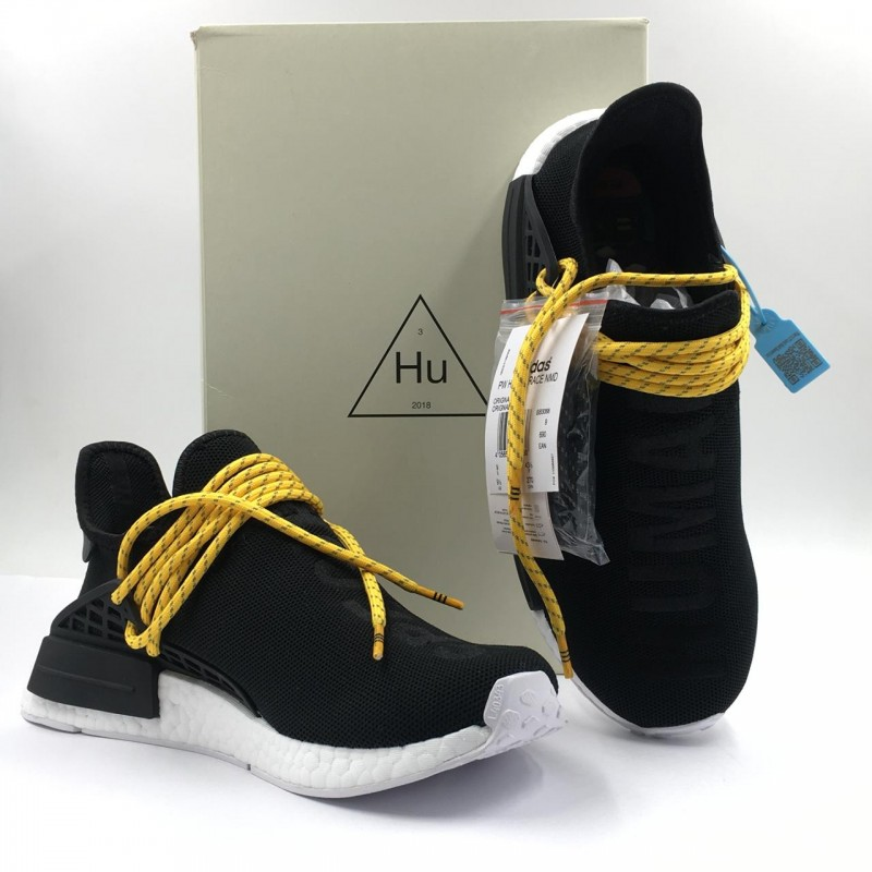 "buy popular d9455 13ab8 Pharrell Williams x Adidas NMD Human Race ""Black"" [ REAL BOOST ]"