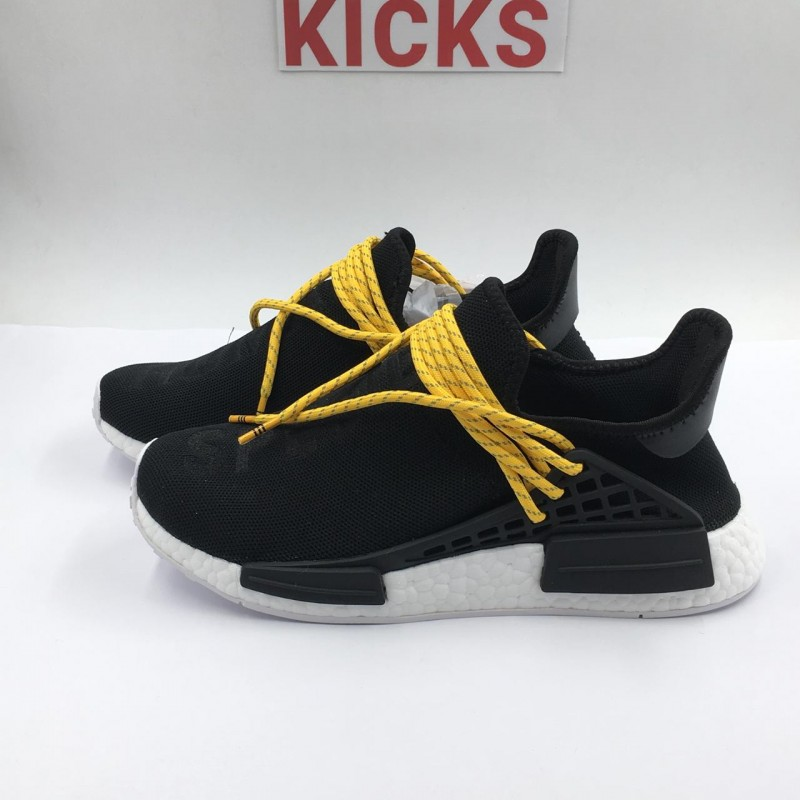 "7196bf90c6a07 Pharrell Williams x Adidas NMD Human Race ""Black""   REAL BOOST"