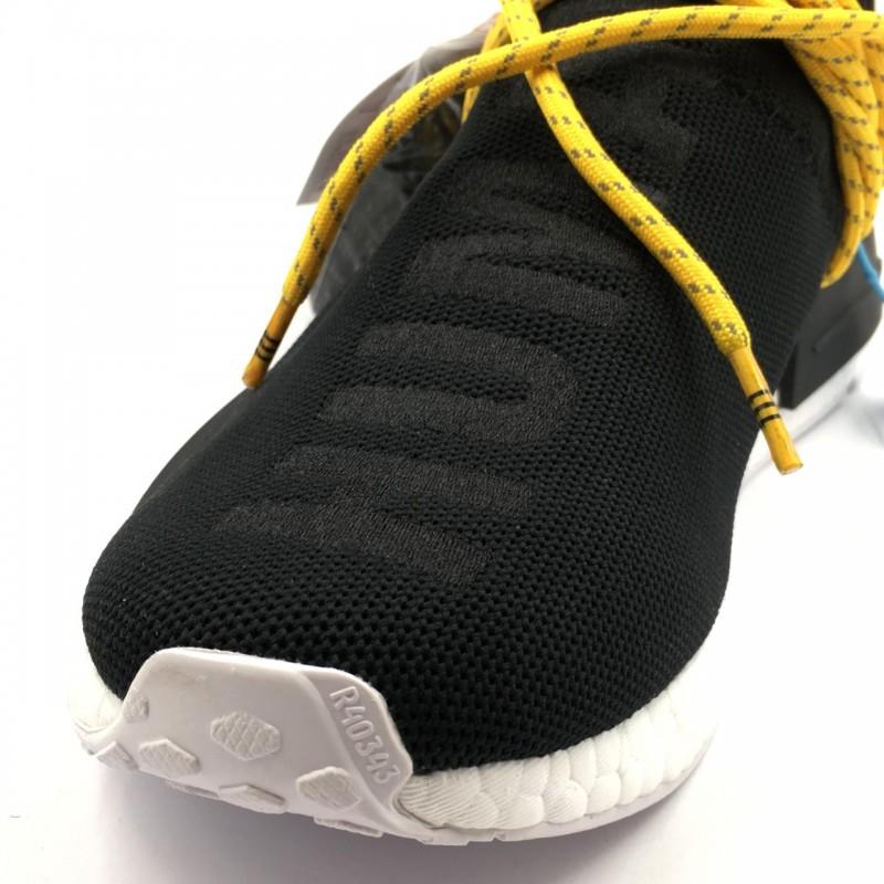"618b35c80 Pharrell Williams x Adidas NMD Human Race ""Black""   REAL BOOST"