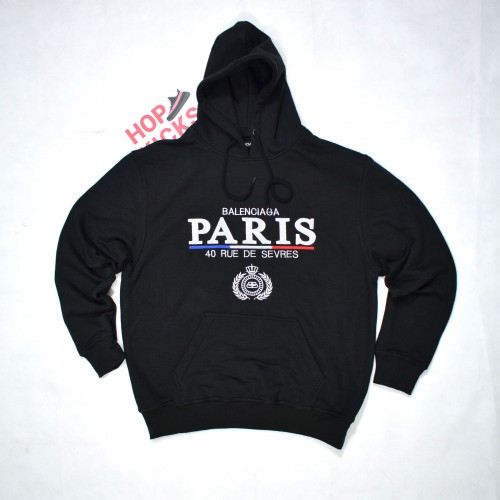 Balenciaga Paris Flag Hoodie [Hop Batch]
