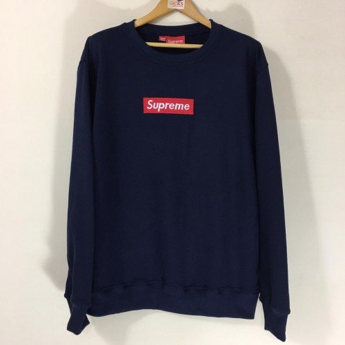 Supreme Blue FW16 Sweatshirt [Hop Batch]
