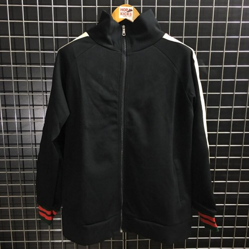 GG Web Trimmed Tech Track Jacket