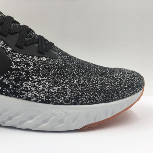 Epic React Flyknit Black Red Orbit