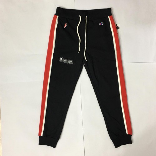 Champion Track Pants Red White Stripe