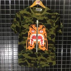 350758697648 Bape Tiger Face Camo Tee
