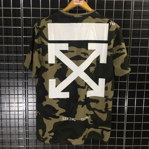 Off-White Camo White Contrast Tee