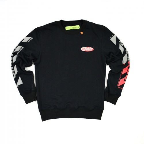 Off-White Split Logo Sweatshirt [Hop Batch]