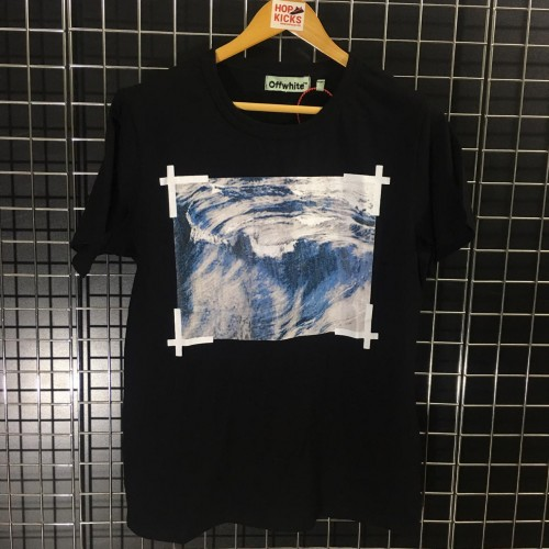 Off-White Rolling Waves Tee
