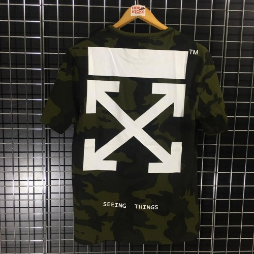 Off-White Camo Seeing Things Tee