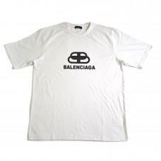 Balenciaga Interlock Tee White [HOP Batch]