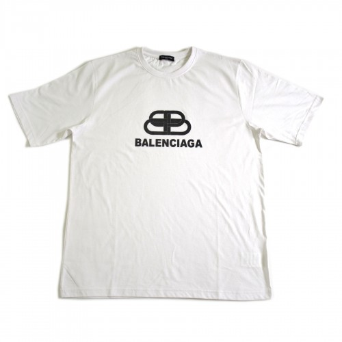 Balenciaga Interlock Tee White [HOP Batch]