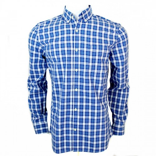 GAP Blue Check Shirt