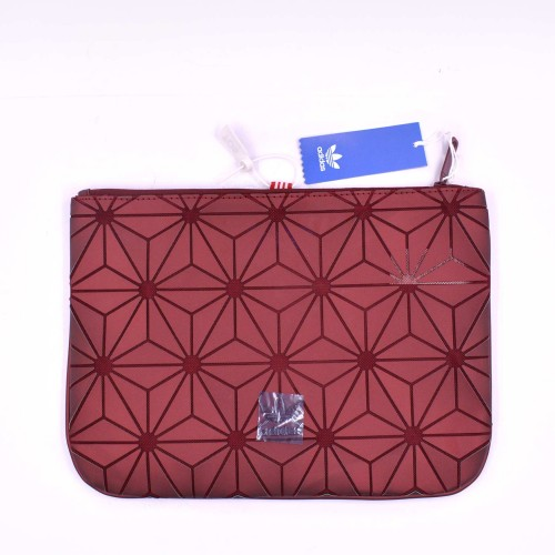 3D Prism Clutch Bag Red