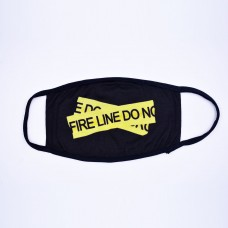Off-White Fire Tape Face Mask [HOP Batch]