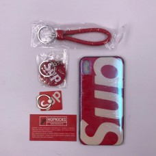 "Supreme ""Sup"" Iphone Cover with accessories"