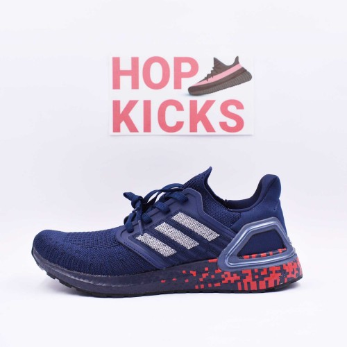 Ultra Boost 20 Consortium Collegiate Navy/Red [Real Boost]
