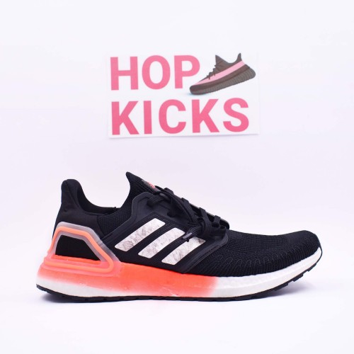 Ultra Boost 20 Consortium Core Black Signal Coral [Real Boost]