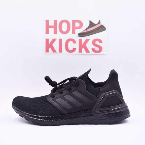 Ultra Boost 20 Triple Black [Real Boost]