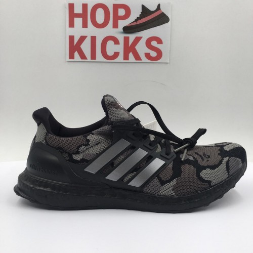 Bape X Ultra Boost 4.0 Camo Grey [Top Quality Version]