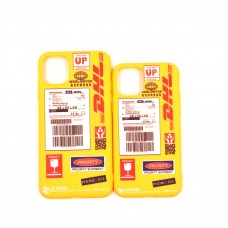 DHL 50th Anniversary Label Yellow