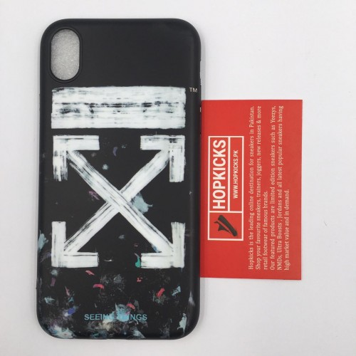 Off-White Galaxy Brushed Case