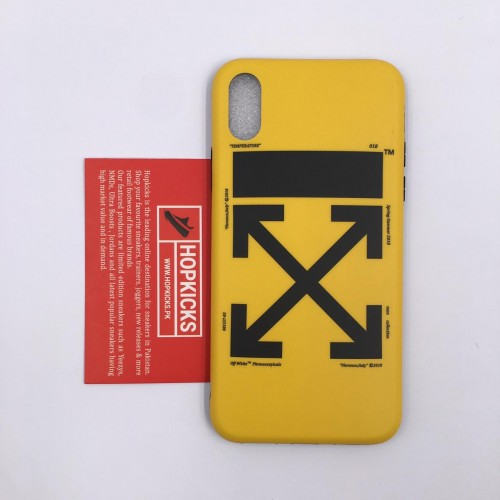 Off-White Yellow Case