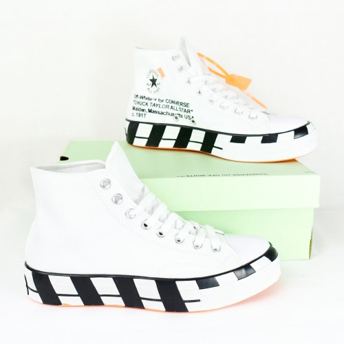 Off-White x Converse 2.0 Hi White/Black