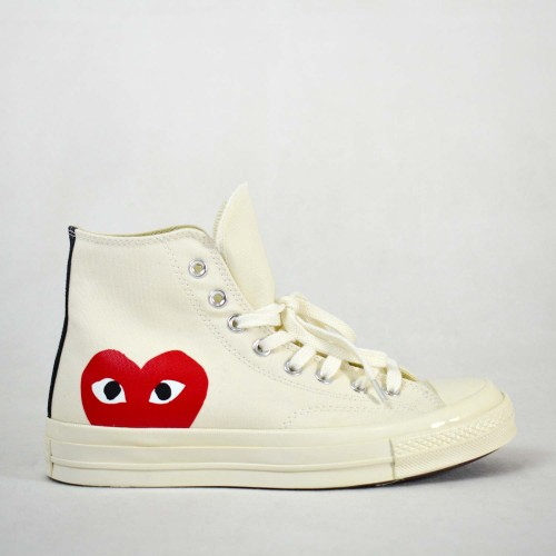 Play X Converse CT Hi White
