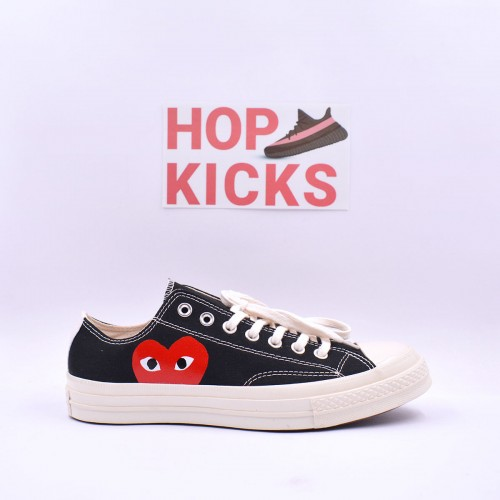 Play X Converse CT Low Black