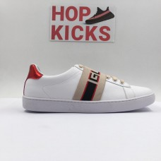GG White Band Ace Sneakers