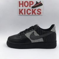 Air Force 1 Low Black Patchwork