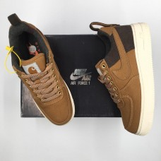 Air Force 1 X Carhartt WIP LV8 Ale Brown