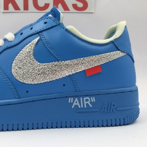 Air Force 1 X Off-White Low MCA Blue [Batch 2]