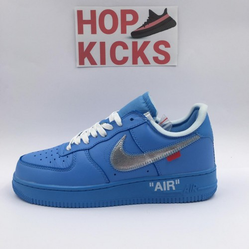 Air Force 1 X Off-White Low MCA Blue [Dot Perfect Version]