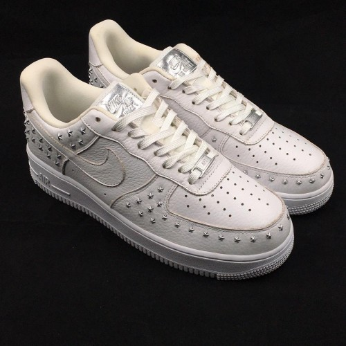 Air Force 1 XX Star Studded White
