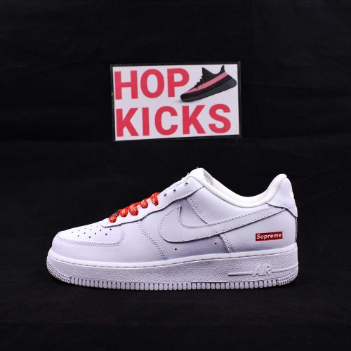 Supreme x Air Force 1 Low White