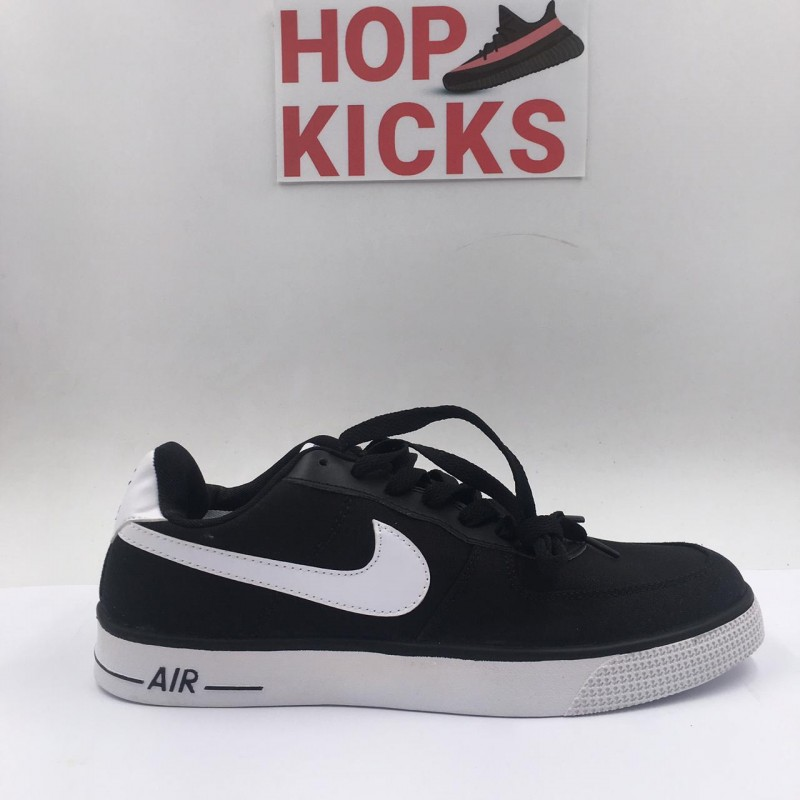 huge selection of af8e7 ded6c Air Force 1 Low Black Suede [Economy Batch]
