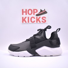 Air Huarache City Low Black White