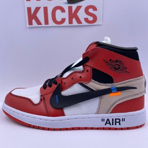 Off-White x Air Jordan 1 Retro High [May 2020 Improved Batch]