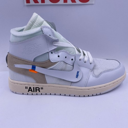 Off-White X Air Jordan 1 White [May 2020 Improved Batch]