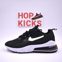 Air Max 270 React Black White [Economy Batch]