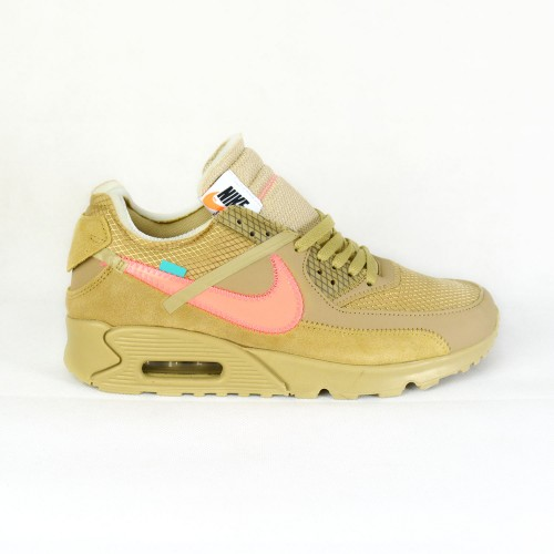 Off-White X Air Max 90 Desert Ore