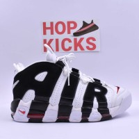 Air More Uptempo White/Black Chicago Bulls [Premium Batch]