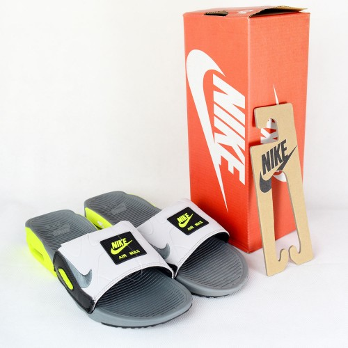 Air Max 90 Slide Smoke Grey Volt